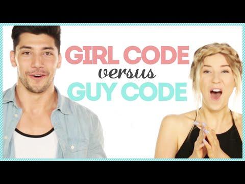 GUY CODE VS GIRL CODE w/ yomuscleboii & Meghan Rienks