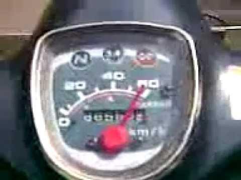 Honda Cub 90 Top Speed Honda Press Cub Driving in Top