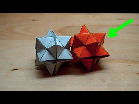 КАК СДЕЛАТЬ КУБ ЙОШИМОТО ИЗ БУМАГИ | Куб трансформер 2.0