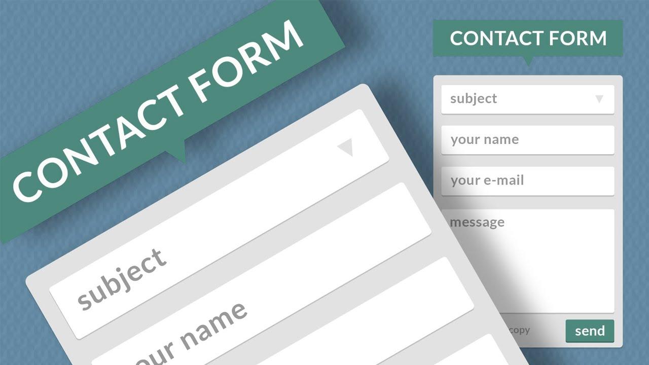Как сделать форму для отправки данных
