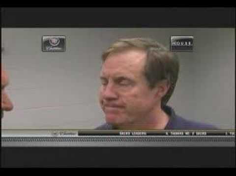 Bill Belichick Post Game Super Bowl XLII