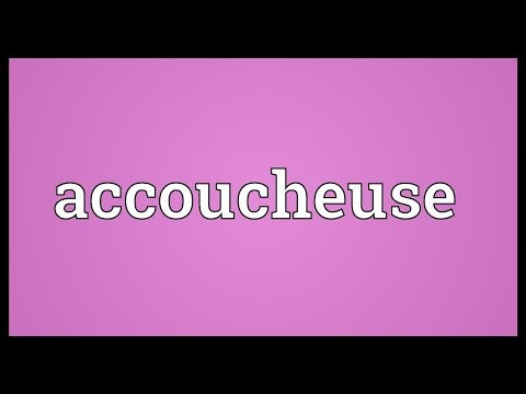 Header of accoucheuse