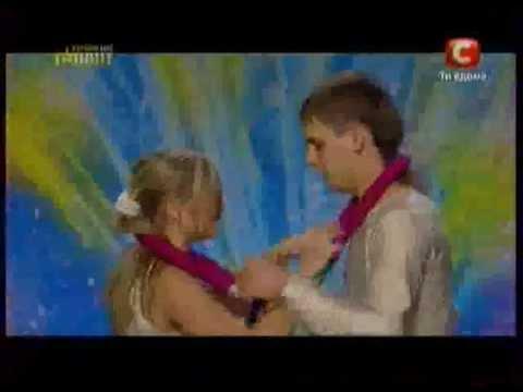 Украина мае талант 4 влюбленные акробаты.mov