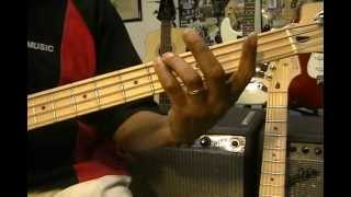 The Axel F Theme Harold Faltermeyer How To Play On Bass Guitar Eddie Murphy Beverly Hills Cop