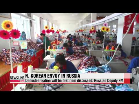 N. Korean senior envoy meets Putin in Moscow