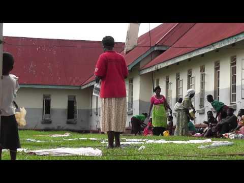 Exterior Jinja hospital in Uganda, Africa