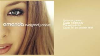 Watch Amanda Crush On You video