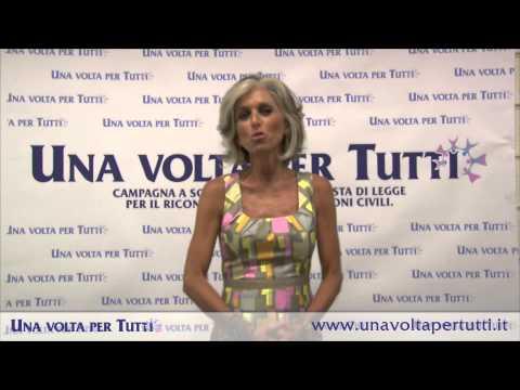 """Paola Marella aderisce alla campagna """"Una volta per Tutti"""""""
