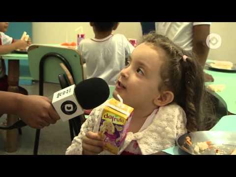 Repórteres mirins se divertem na Semana da Criança da Uefs