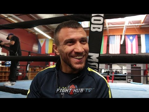 "LOMACHENKO DISSES TANK DAVIS ""YOU NEVER FIGHT IN MAIN EVENT, I'LL FIGHT YOU FOR FREE!"""
