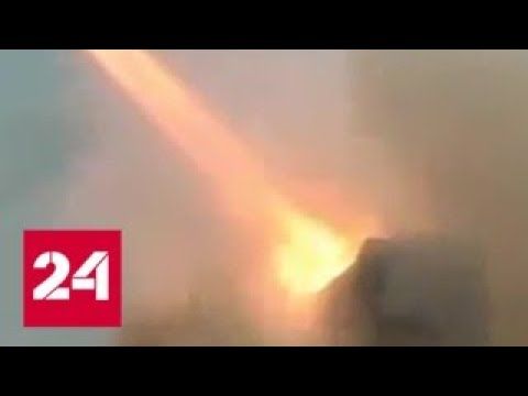 Атака на авиабазу Т-4: Сирия неприятно удивила неизвестного агрессора - Россия 24
