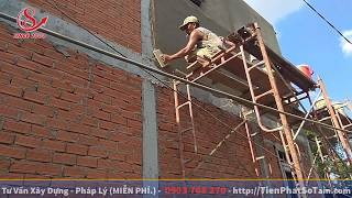 Vữa Tô Tường Mac 75 Trộn Như Thế Nào Là Đạt Chuẩn | Xây Dựng Nhà Phố