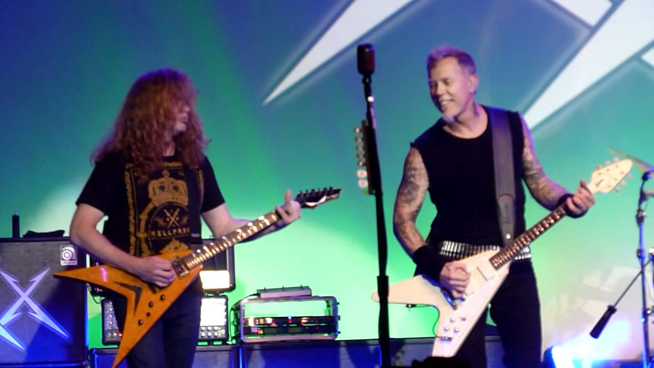 Dave Mustaine Metallica Guitar Metallica w/ Dave Mustaine