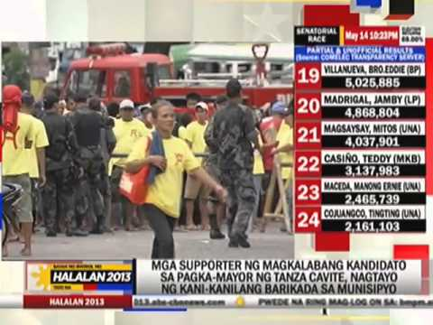 Post-election tension grips Cavite town