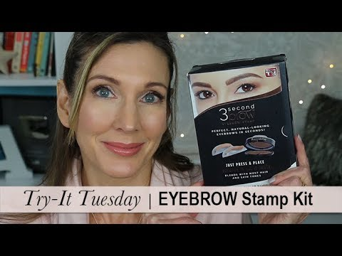 Try It Tuesday ~ 3 Second Brow Eyebrow Stamp Kit!