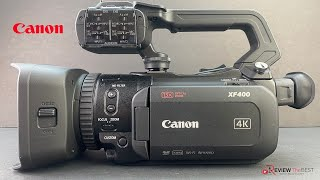 Canon XF 400 Unboxing & First Impressions!