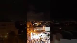 #السديس بمدينة الرباط. اللهم بارك في شباب المغرب