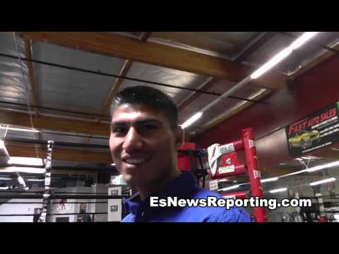 mikey garcia morning of fight he could not see EsNews Boxing