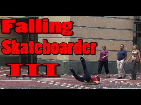 Public Pranks: The Falling Skateboarder 3