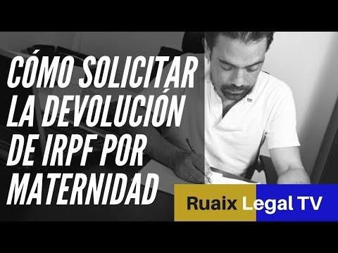 Prestacion por Maternidad Exenta | GRATIS Formulario Reclamar Devolucion IRPF Maternidad  [2018]