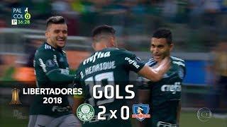 Palmeiras 2 x 0 Colo-Colo - Libertadores 2018 - Globo HD⁶⁰