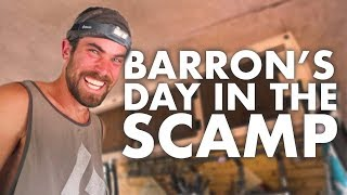 Day in the Life of BARRON // 13ft Scamp Trailer