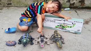 Đồ Chơi Cá Sấu Và Tàu Bay Điều Khiển ❤ ChiChi ToysReview TV ❤ Bài Hát Vần Thơ Cho Bé