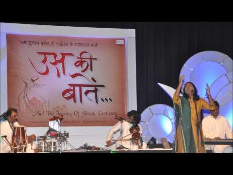 Us Ki Baatein Mumbai Concert, Dard Badh Kar(shubhomita).mp4 video
