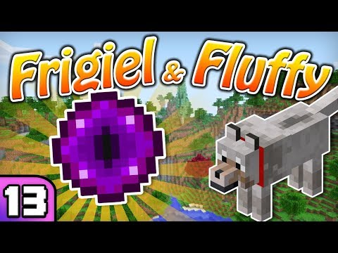 FRIGIEL & FLUFFY : LE STRONGHOLD | Minecraft - S5 Ep.13 thumbnail