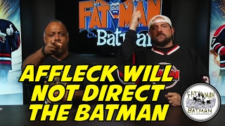 AFFLECK WILL NOT DIRECT THE BATMAN - KEVIN SMITH