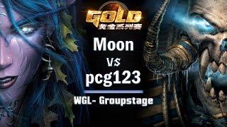 ► WarCraft 3 - Moon (NE) vs. pcg123 (UD) - WGL Groupstage