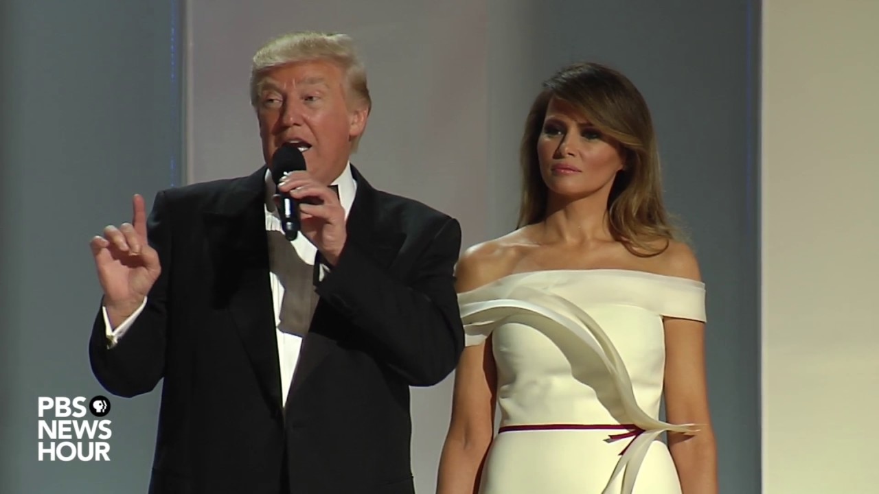 WATCH: President Donald Trump and First Lady Melania Trump dance at the Liberty Ball