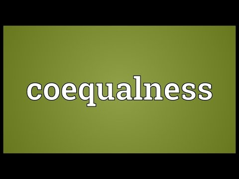 Header of coequalness