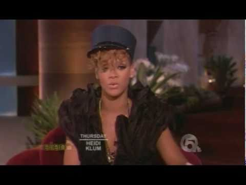 Rihanna Interview 2010 youtube On Ellen Show  Degeneres RIHANNA ELLEN INTERVIEW 2010