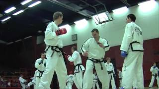 Sparring seminar by Tomaz Barada, Taekwon-Do