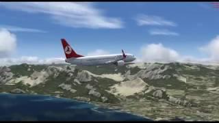 antalya -izmir uçuşu