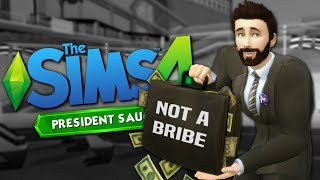 MONEY AND MAGIC WINS PRESIDENCY - The Sims 4 Funny Highlights #110
