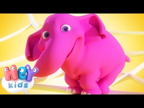 Un Elefante Si Dondolava - Canzoni Per Bambini - Impara i numeri