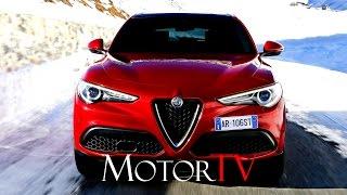 TEST DRIVE : 2017 ALFA ROMEO STELVIO Q4 2.2 DIESEL 210 HP (ENG)
