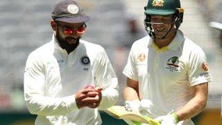 Paine, Kohli verbals caught on TV stump mic