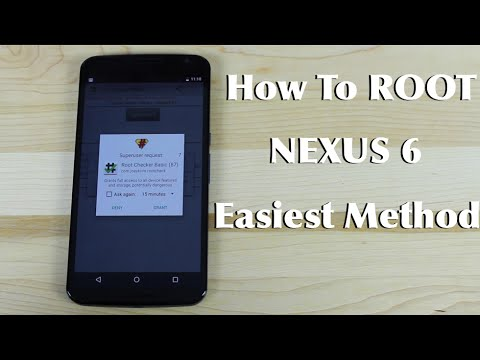 How To ROOT Motorola Google Nexus 6 Easiest Method