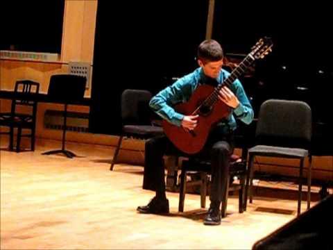 Tango (Emilio PUJOL) performed by Nicolas Migneault