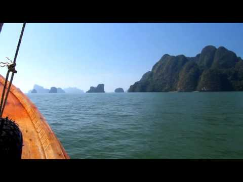 Thailand - Krabi - Long tail boat to James Bond Island