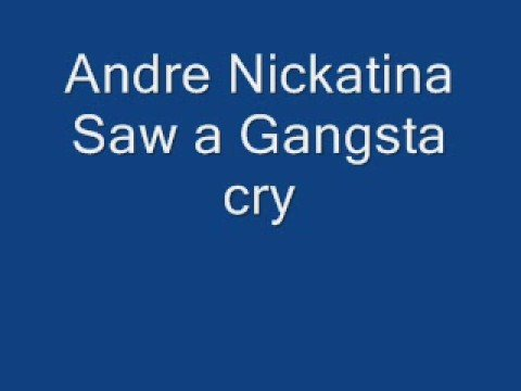 Andre Nickatina - Saw A Gangsta Cry
