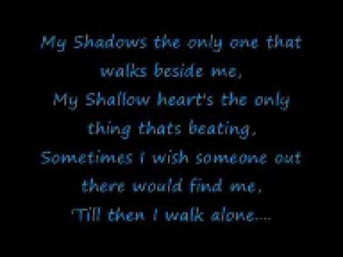 Boulevard Of Broken Dreams By Green Day Lyrics video