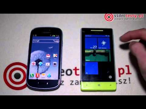 Windows Phone 8 vs Android 4 1 Jelly Bean   PREZENTACJA]   YouTube