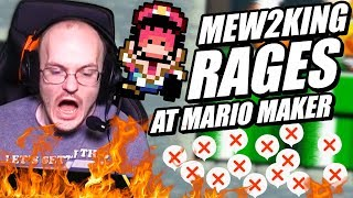 Mew2King RAGES at Mario Maker