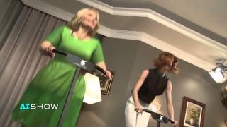Provocare AISHOW: Jumping pe batută cu Aliona MOON
