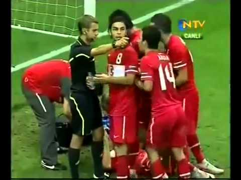 Euro 2012 - Türkiye Kazakistan 2-1 Maçın Geniş Özeti