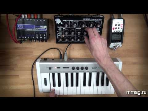 Аналоговый синтез звука (видеоурок)